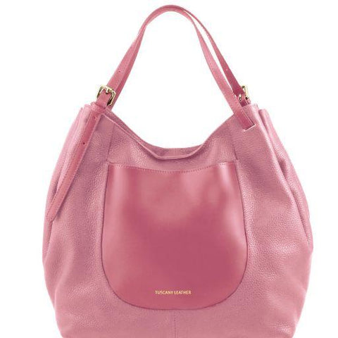 Cinzia Soft Leather Shopping Bag TL141515