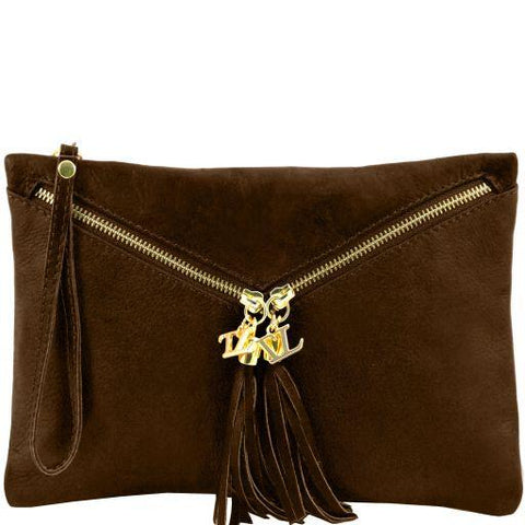 Audrey Women Leather Clutch TL141359