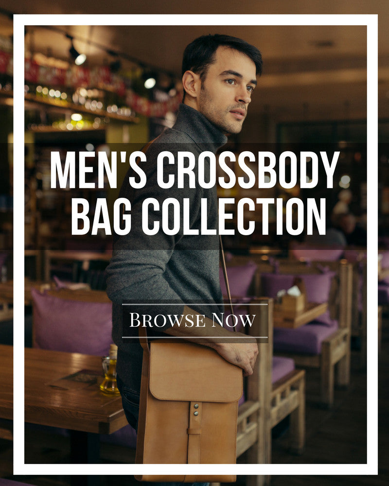 Men's Crossbody Bag Collection