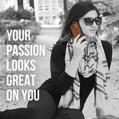 Your passion looks great on you.