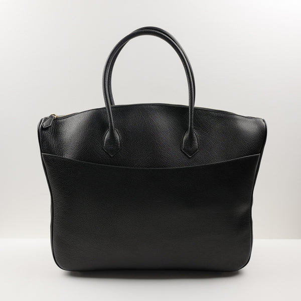 1130 Classic Briefcase in Black Buffalo