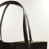 1147 Large Tote Bag in Dark Brown Calf