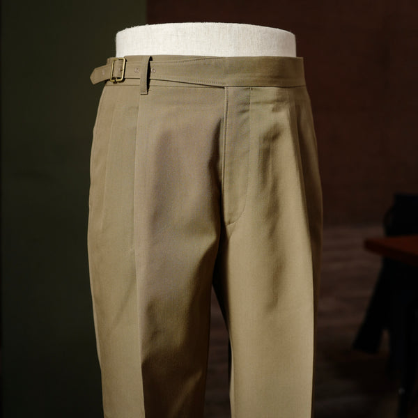 Brown Vintage Wool Gurkha Trousers