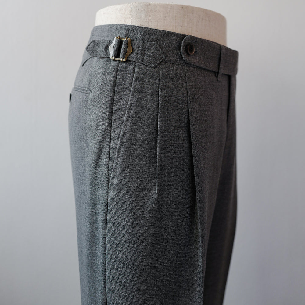 Grey 3-ply Fresco Trousers (New Classic)
