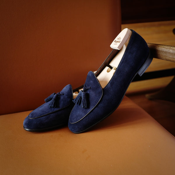 4951 Tassel Loafers in Florence Blue