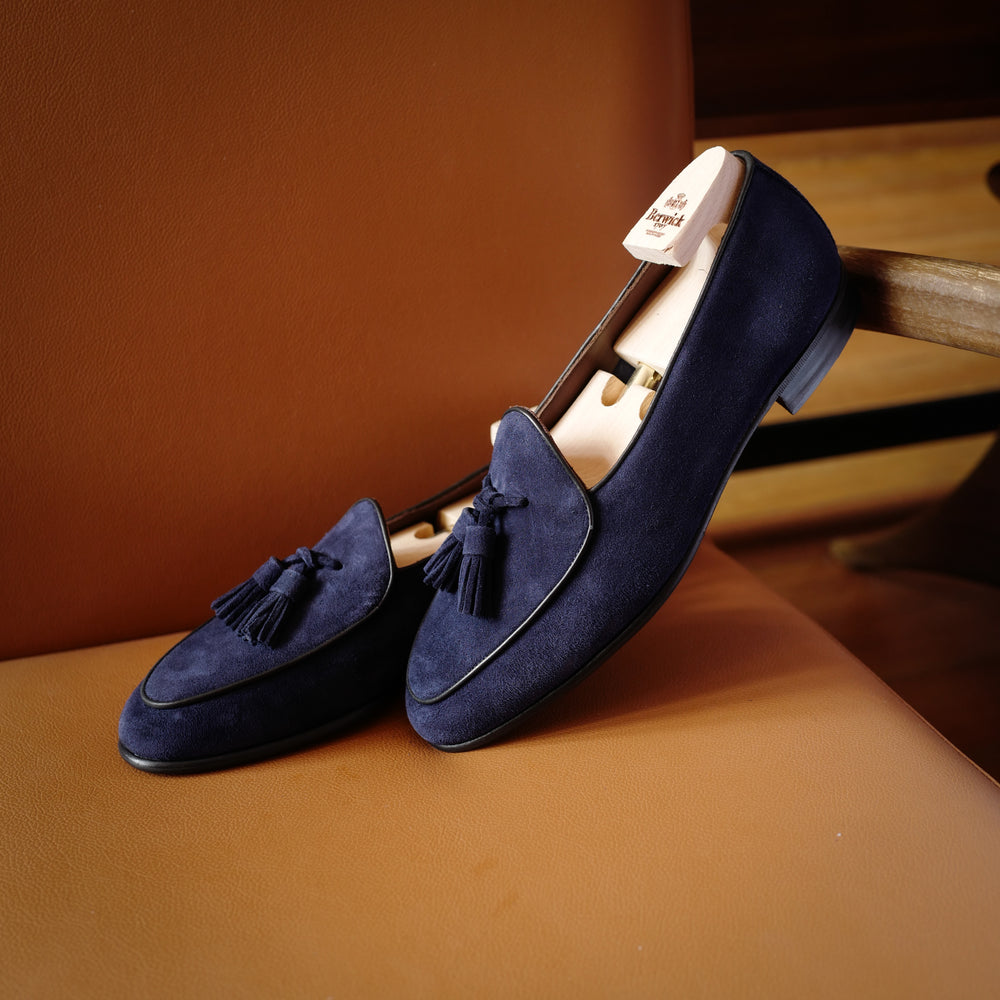 4951 Kudu Loafers in Sea Blue