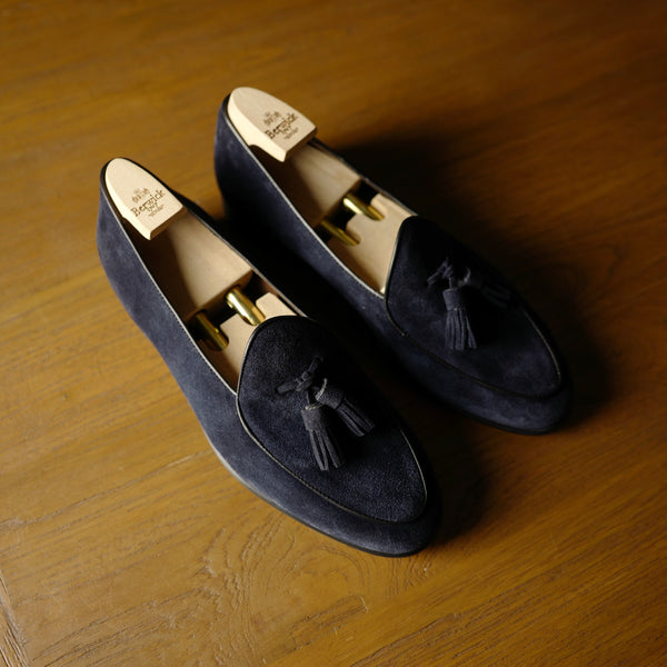 4951 Tassel Loafers in Baltic Navy