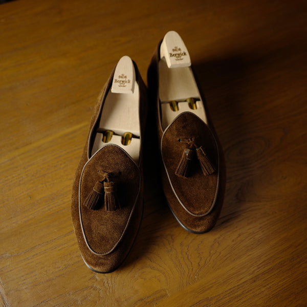 4951 Tassel Loafers in Snuff Brown