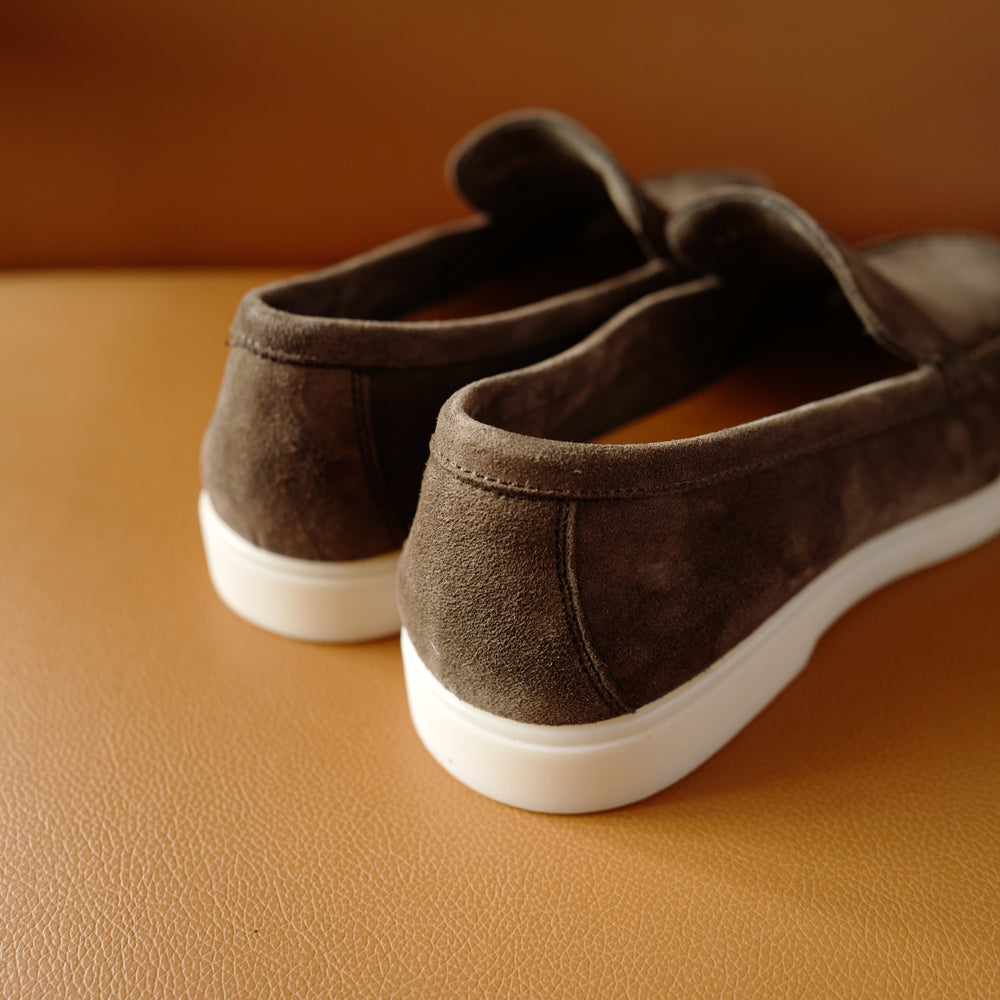 5191 Slip-on Loafers in Kudu Taupe