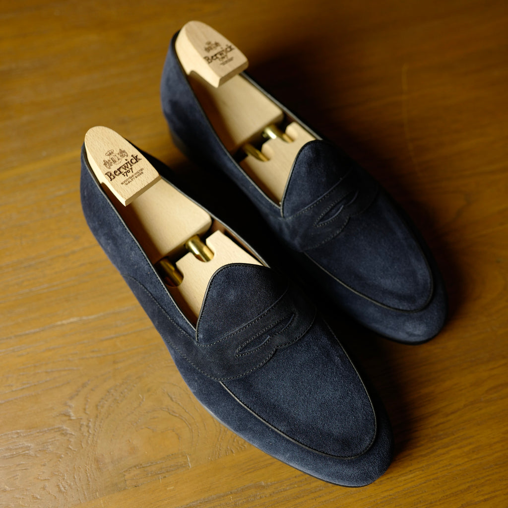 4952 Penny Loafers in Baltic Navy