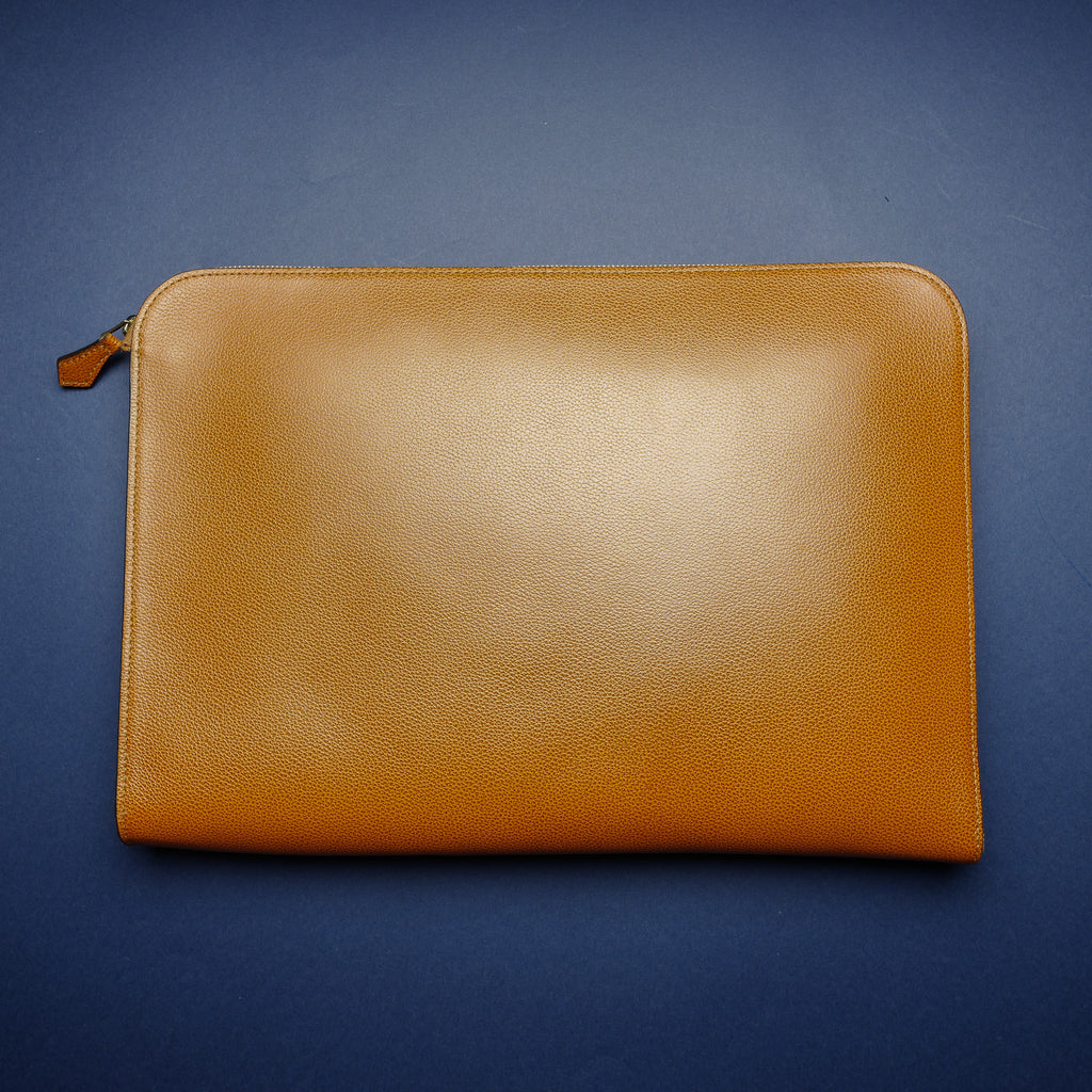 934 Document Case in Medium Brown Calf