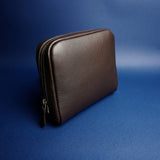 951 Pouch in Dark Brown Calf