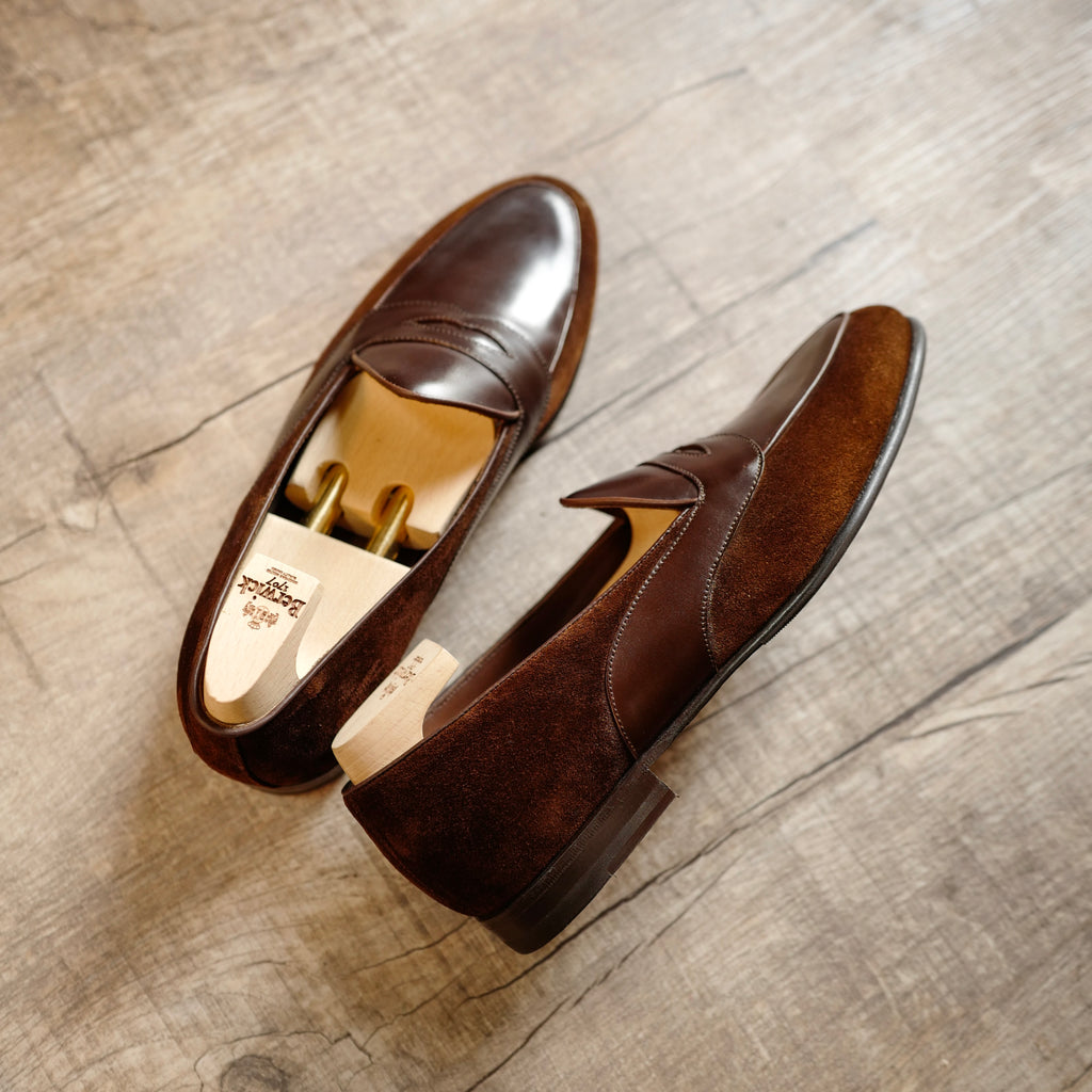 4952 Penny Loafers in Tudor Brown