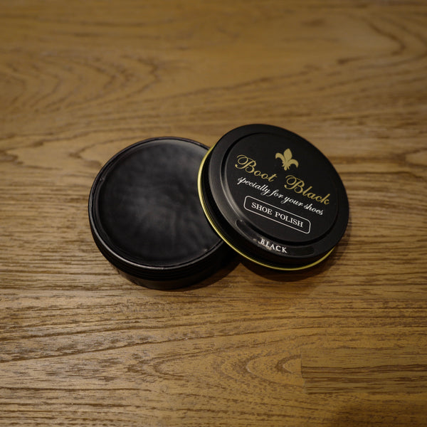 Black Shoe Polish Wax