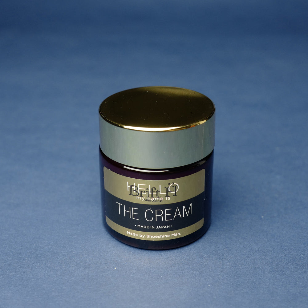 Navy Shoe Cream