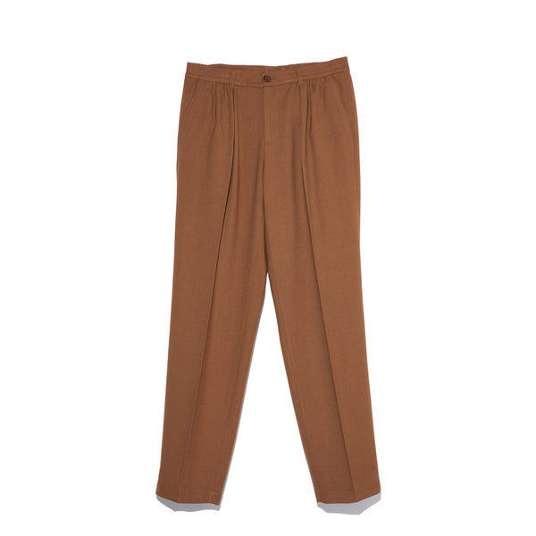 Shirring Trousers in Brown