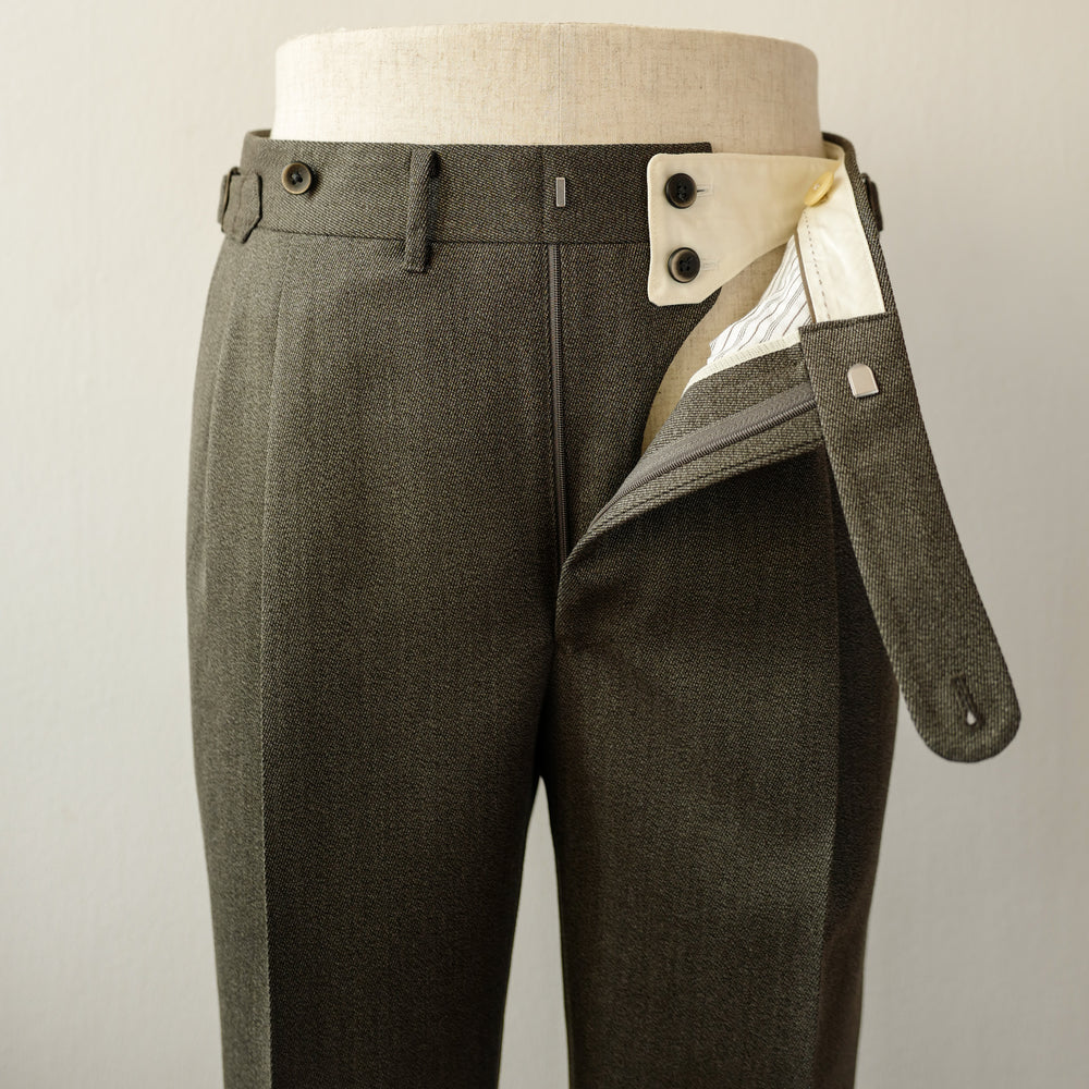 Green Cavalry Twill Trousers (New Classic)