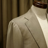 Beige Covert Cloth Suit