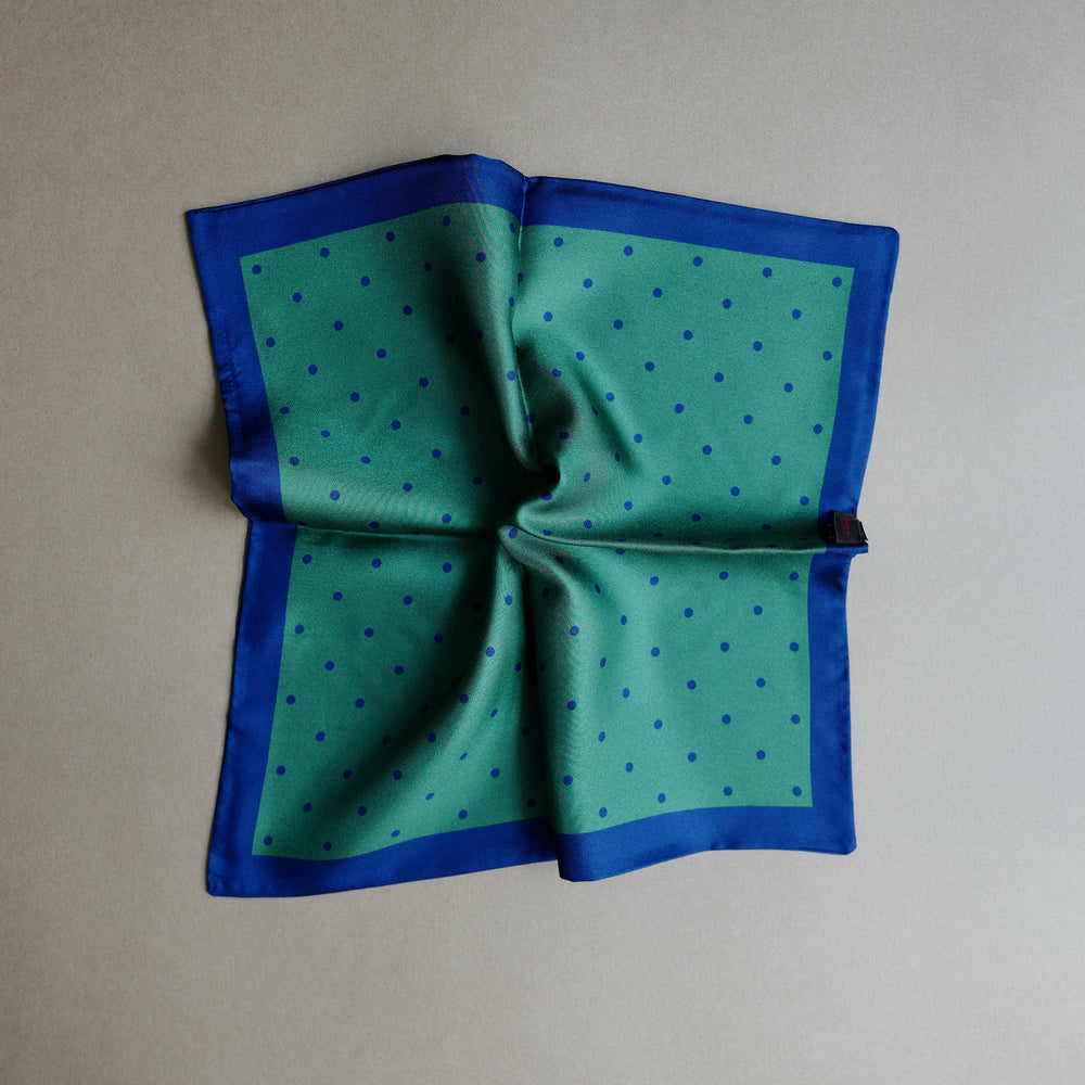 Green Glen Plaid Pocket Square