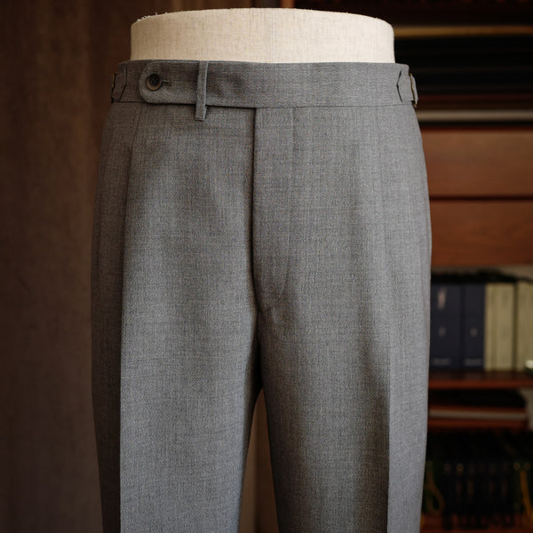 Light Grey Wool/Mohair Trousers (New Classic)