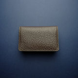 Dark Brown Buffalo Card Wallet