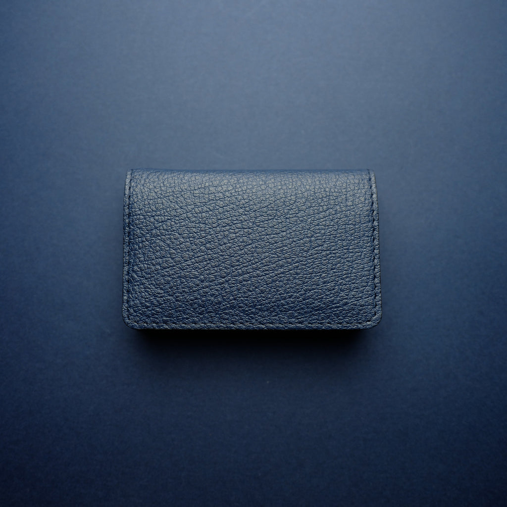 Navy Buffalo Card Wallet