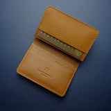 Light Brown Buffalo Card Wallet