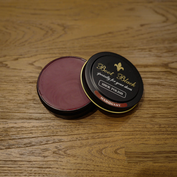 Mahogany Shoe Polish Wax