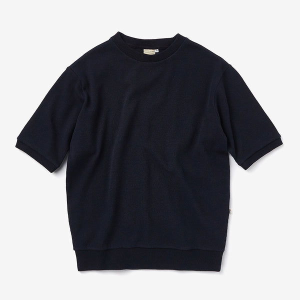 Waffle T-shirt in Navy