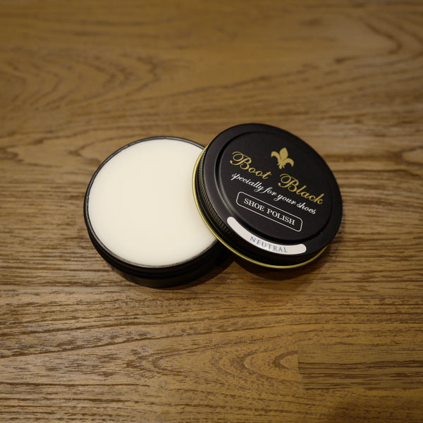 Neutral Shoe Polish Wax