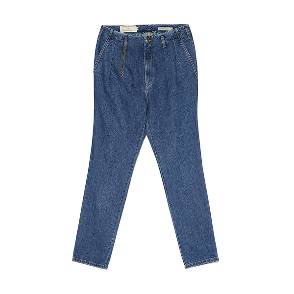 Pieghe II Jeans in Blue