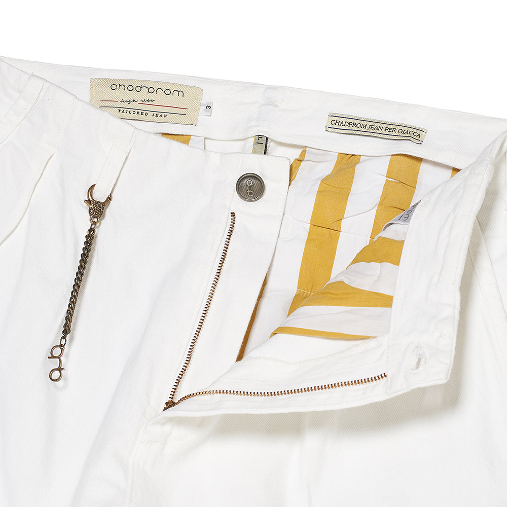 Pieghe II Jeans in White