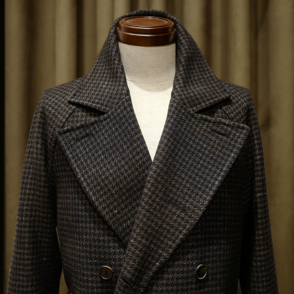 Raglan Double-breasted Coat