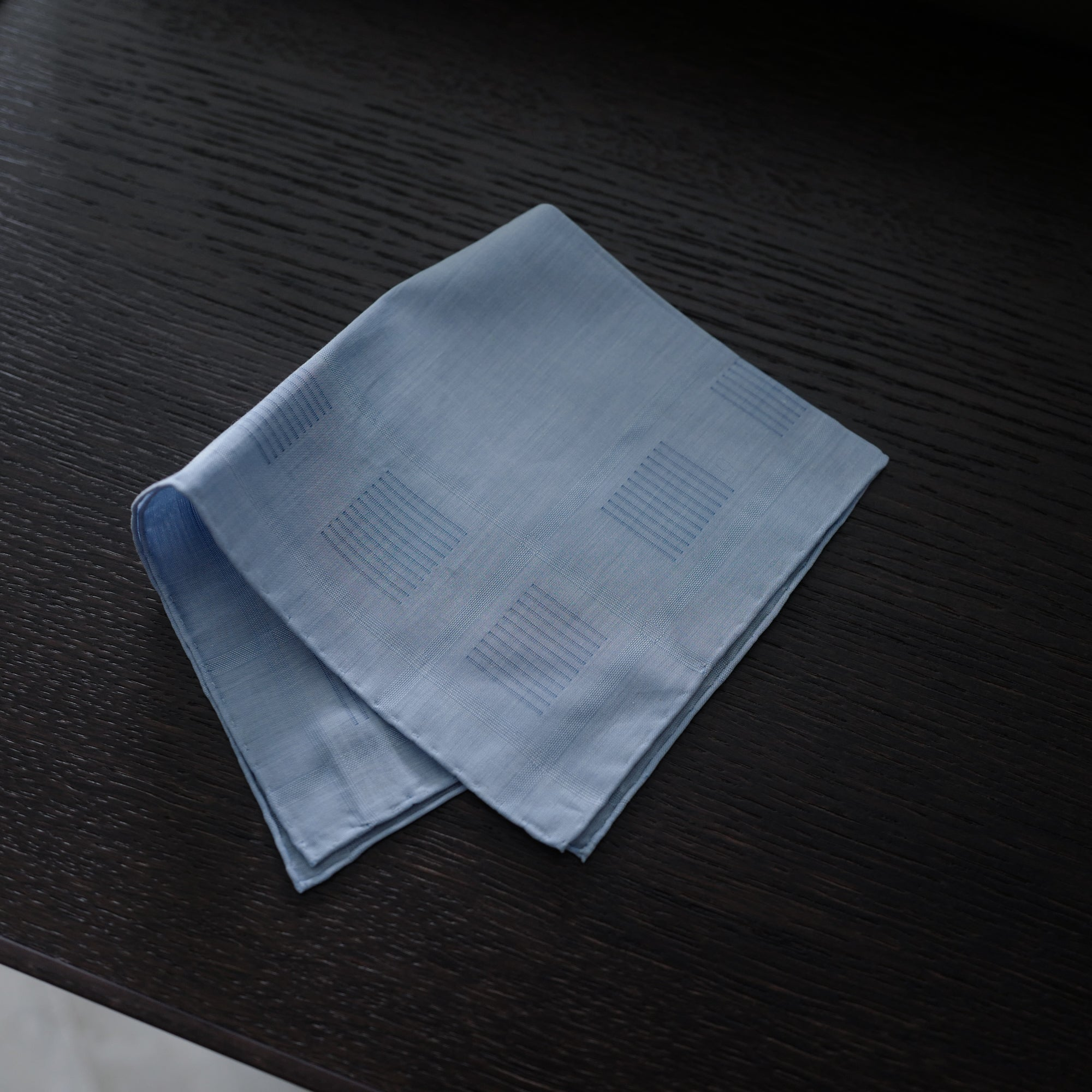 Heraclès Pocket Square in Sky Blue
