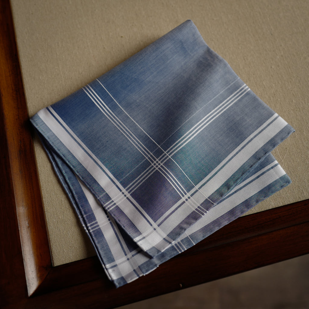 Sarabande Pocket Square in Blue