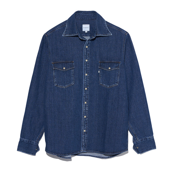 Denim Shirt in Blue
