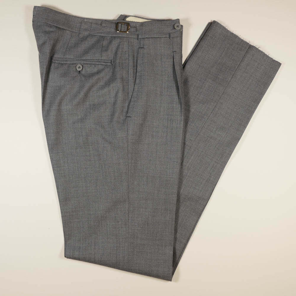 Light Grey Wool Trousers