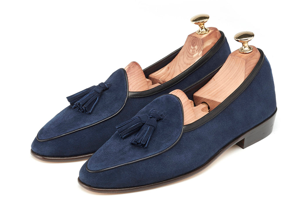 Sagan Tassel Loafers in Indigo