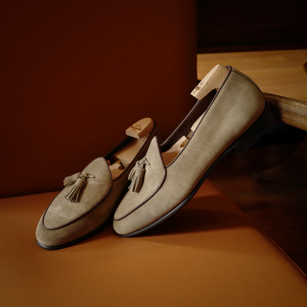 4951 Kudu Loafers in Smoke Beige