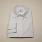White Oxford Shirt with S Collar