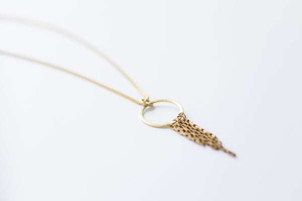 Melt Goods Lumi Bracelet I Minimalist + Delicate Brass Jewelry Made by Refugee Women in America