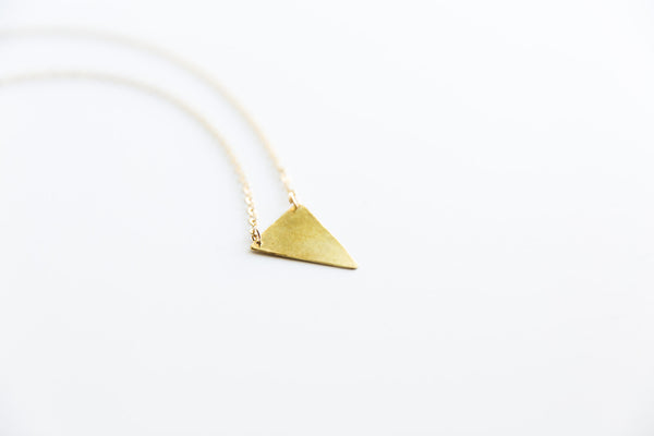 Yin Triangle Necklace