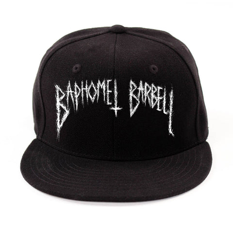 Baphomet Logo Embroidered Snapback