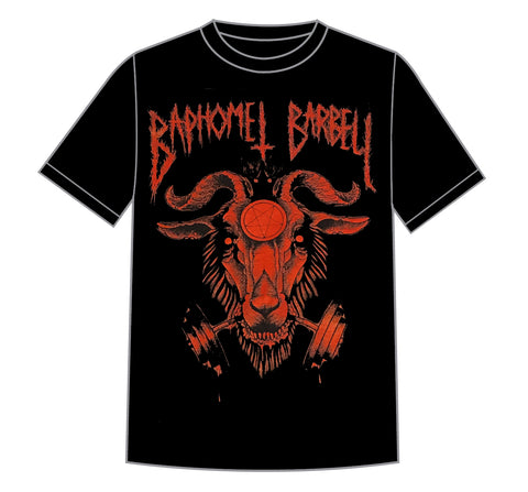 *LIMITED RUN* Baphomet Logo - Red