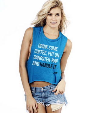 Handle It Cropped Muscle Tank