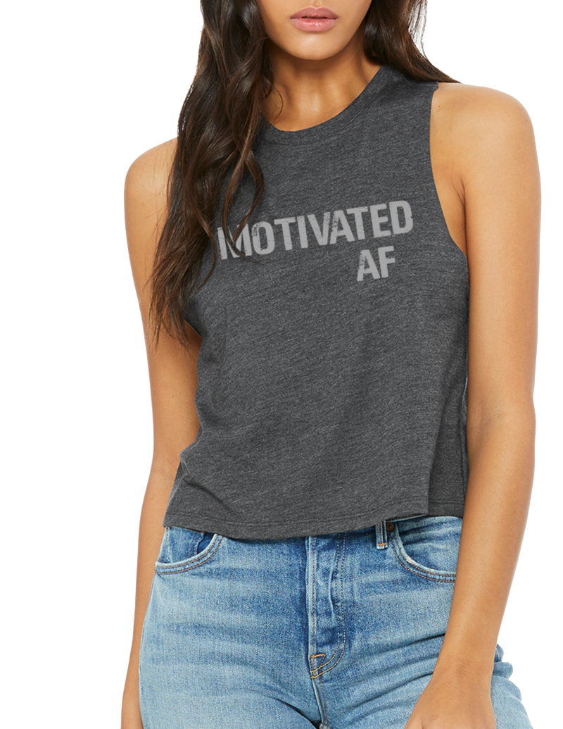 Motivated AF Crop Tank