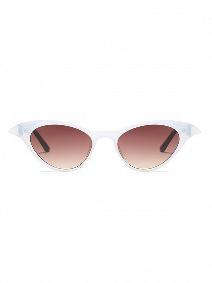 Multicolor Cat Eye Frame Sunglasses