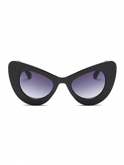 Black Cat Eye Frame Sunglasses