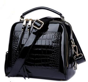 Crocodile Leather Shoulder Bags For Women