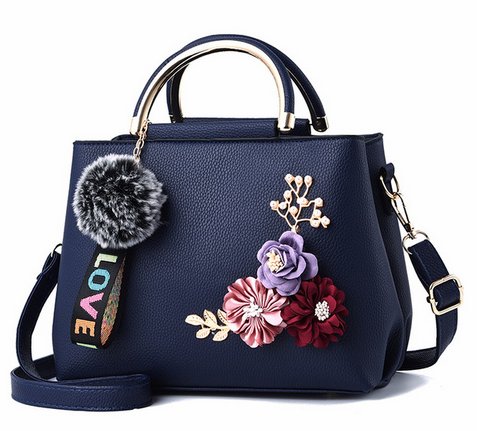 Flowers Shell Women's Tote Leather Clutch Bag Small Ladies Handbags Brand Women Messenger Bags Comfort Casual Flower Bag 2019